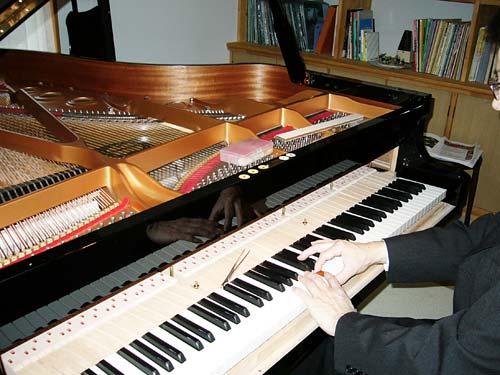 ピアノ工房ハーモニー ピアノ調律2
