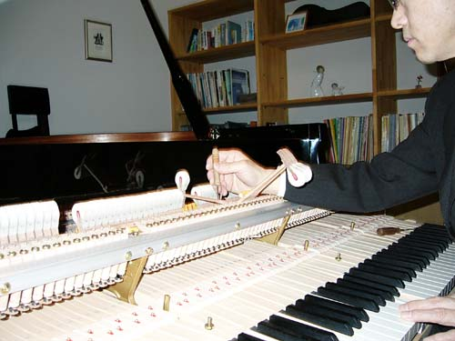 ピアノ工房ハーモニー ピアノ調律4
