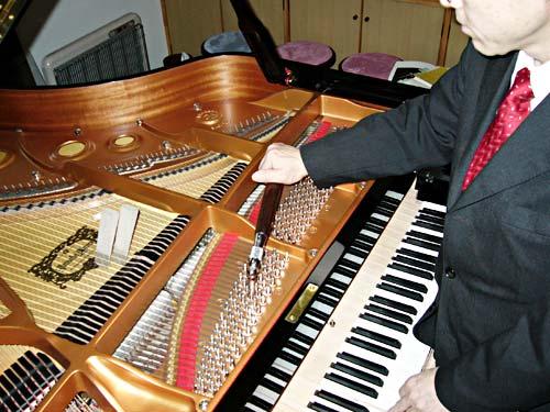 ピアノ工房ハーモニー ピアノ調律写真